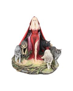 Ruth Thompson Howl Red Riding Hood Female and Wolf Pack Figurine Wolves