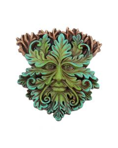 Tree Spirit Wall Plaque Oak King 15cm Tree Spirits