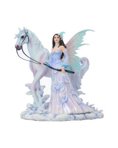 Nene Thomas Winter Wings Ice Fairy and Horse Companion Figurine Fairy Figurines Medium (15-29cm)