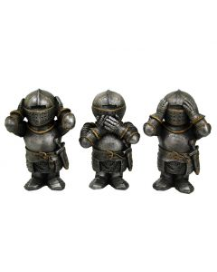Three Wise Knights Figurine Knight Ornaments Medieval