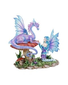 Companion Dragon By Amy Brown 23cm Ornament Premium Medium Dragons