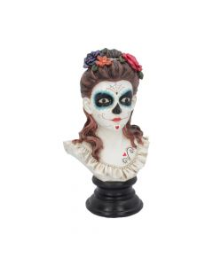 Flores De Los Muertos Day of the Dead Bust 30.8cm Gothic