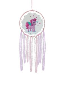 Starbright Pink Unicorn Dreamcatcher 15cm Unicorns