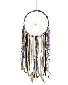 Ashling Harmony Multicoloured Ribbon Dreamcatcher 16cm (Large) Dreamcatchers