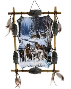 Alphas Alliance Wolf Pack Dreamcatcher 60cm Wolves
