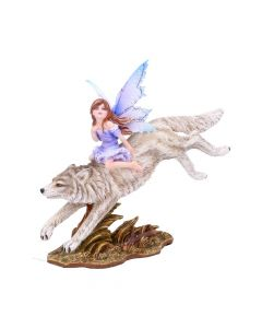 Wolf Rider Fairy Ornament Fairy Figurines Medium (15-29cm)