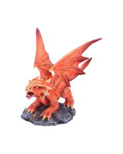 Anne Stokes Age of Dragons Small Fire Dragon Figurine Mother's Day