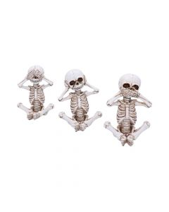 Three Wise Skellywags 13cm (Set of 3) Skeletons Skeletons (Premium) Premium Range