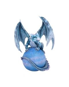 Mercury Guardian Turquoise Planet Dragon Figurine Premium Medium Dragons