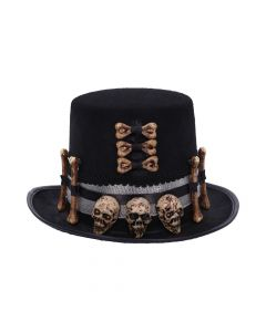Voodoo Priest's Skull and Bone Top Hat Skulls (Premium)