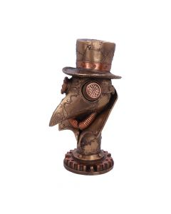 Steampunk Beaky Plague Doctor Bust Figurine Back in Stock