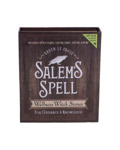 Salem's Spell Kit Set of Six Witches Wellness Stones in Decorated Box Wiccan