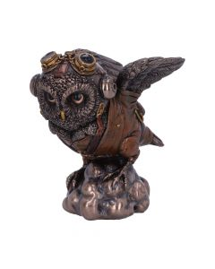 Learning to Fly 10.5cm Owls Steampunk Premium Range