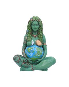 Mother Earth Art Statue (Painted,Large) 30cm Mythology Mutter Erde Nicht spezifiziert