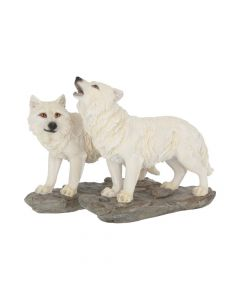 The Watchers (Set of 2) 15.6cm Wolves Nicht spezifiziert