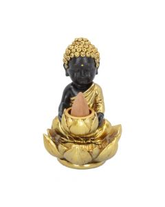 Baby Buddha Backflow Incense Burner 10.3cm Buddhas and Spirituality Backflow Nicht spezifiziert