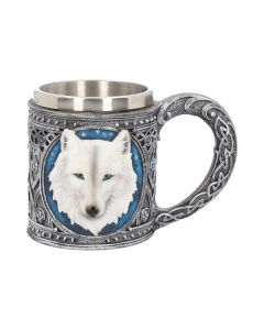 Ghost Wolf Tankard 15.4cm Wolves All Animals Value Range