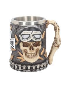 Iron Cross Skull Tankard 14cm Skulls Skulls Value Range