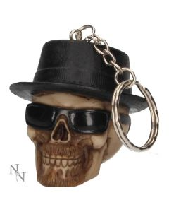 Badass Keyrings (pack of 6) 4.6cm Skulls Skulls Value Range