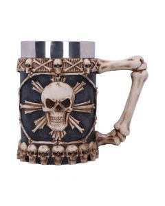 Large Tankard of Skulls 16cm Skulls Skulls Value Range