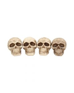 Smile (Set 4) 9.5cm Skulls Skulls Value Range