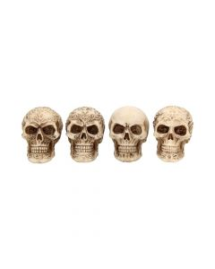 Sinister Smiles S/4 7cm Skulls Skulls Value Range