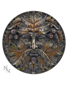 Bronzed Autumn Equinox Tree Spirit Wall Plaque Tree Spirits