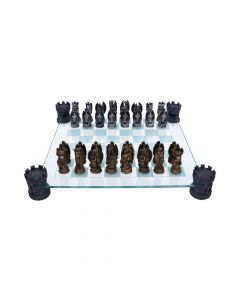 Kingdom Of The Dragon Chess Set 43cm Dragons Dragon Chess Sets Premium Range