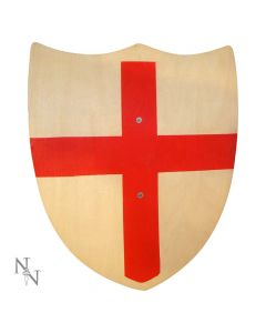 St George Wooden Toy Prop Shield Medieval