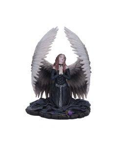 Prayer for the Fallen Angel Figurine by Anne Stokes Gothic Ornament Dark Angels