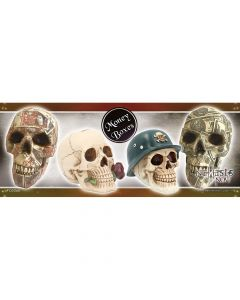 Skull Money Boxes Shelf Talker Display Items & POS Display Items & POS Nicht spezifiziert