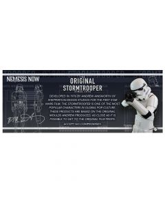 Original Stormtrooper Shelf Talker Display Items & POS Stormtroopers Nicht spezifiziert