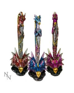 Dragon Pens & Holders 16.5cm (Set of 3) Dragons Dragons Value Range