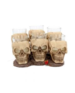 Six Shooter Skulls 10cm (set of 6) Skulls Skulls Value Range