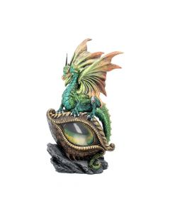 Emerald Green Eye Of The Dragon Light Up Figurine Dragons