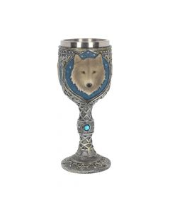 Lone Wolf Goblet 19.5cm Wolves All Animals Value Range