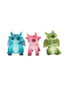 Tiny Dragons (Set of 3) 6.5cm Dragons Dragons Value Range