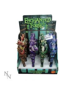 Enchanted Forest Dragon Pens 16cm (Display of 12) Dragons Drachen