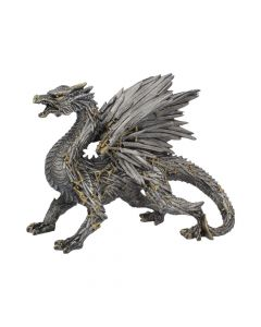 Swordwing Dragon Figure Forged From The Blades Of Enemies 29.5cm Steampunk Dragons