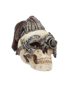 Dreadlock Device Steampunk Skull 24.5cm (Large) Web Offers