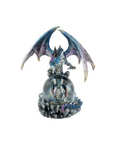 Azul Oracle Blue Dragon Fortune Seer Figurine 19cm Dragons