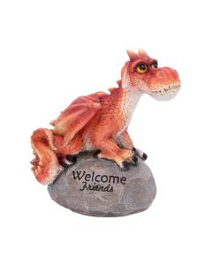 Welcome Friends Red Dragon Ornament Dragons