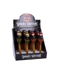 Spooky Writers Witch Pens (Display of 12) 16cm Witchcraft & Wiccan Witchcraft & Wiccan Value Range