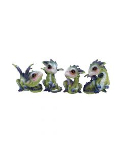 Curious Hatchlings (Set of 4) 9cm Dragons Dragons Value Range