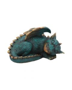 Forty Winks Sleeping Green Dragon Ornament Dragons