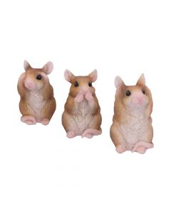 Three Wise Mice 8cm Animals All Animals Value Range