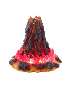 Volcanic Eruption Magma Lava Volcano Backflow Incense Cone Burner Backflow