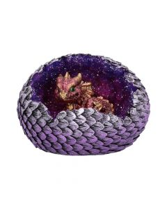 Geode Home (Red) 10.7cm Dragons Realm of Dragons Value Range