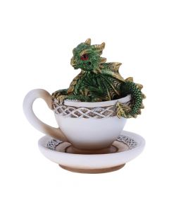 Dracuccino (Green) 11.3cm Dragons Realm of Dragons Value Range