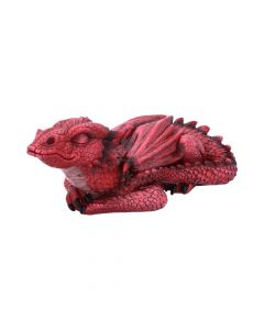Ruby Dreaming Sleeping Red Dragon Figurine Dragons